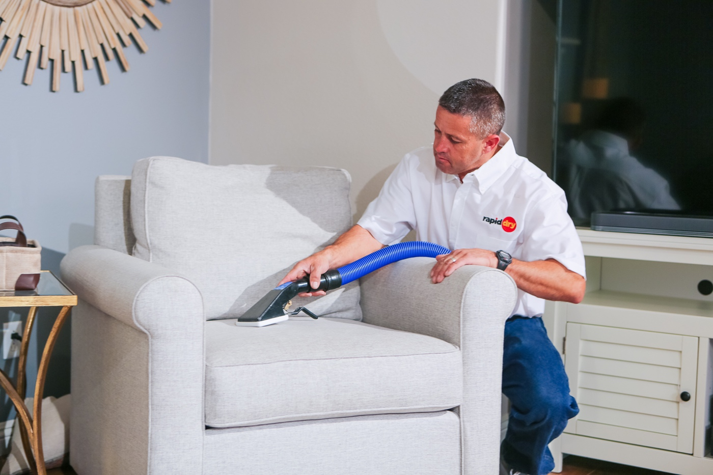 Rapid Dry Restoration Upholstery Cleaning